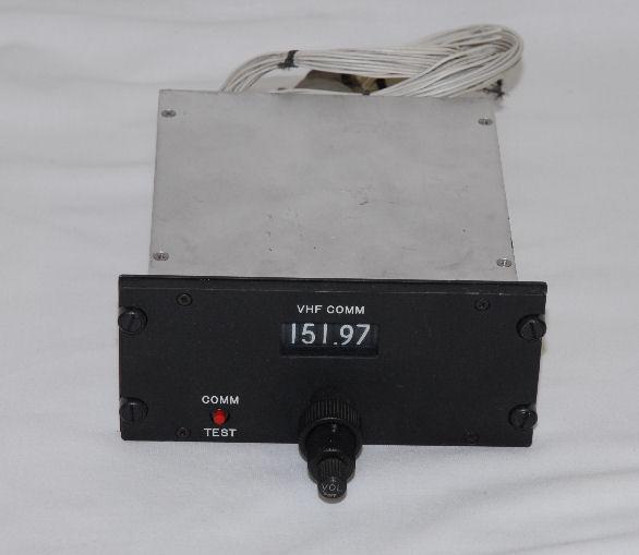Vhf Control Heat Unit: BPB Surplus :: Aircraft Control Boxes :: Comm-VHF :: 800