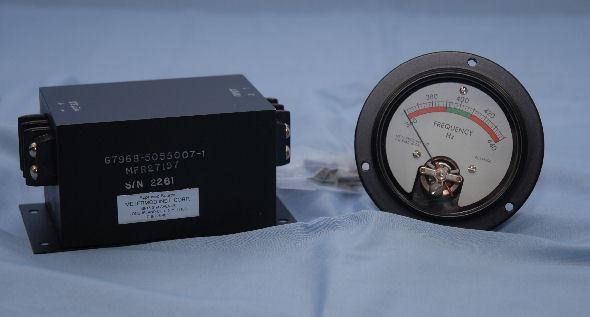 5055007, Frequency Meter Indicator Set, 360 - 440 Hz