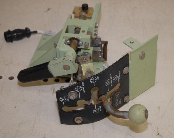 12334412, Shifter Assembly, Driver, M2A2, M3A3 vehicle