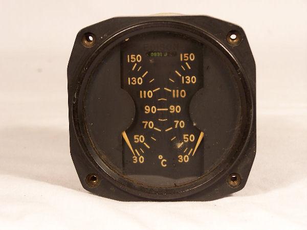123-5, 33980YF Dual Temperature Indicator