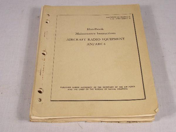 AN/ARC-5  VHF Aircraft Radio Equipment Maintenance Manual