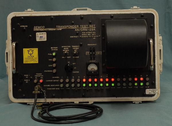 AN/DRM-29A, A100000-100, Transponder Test Set