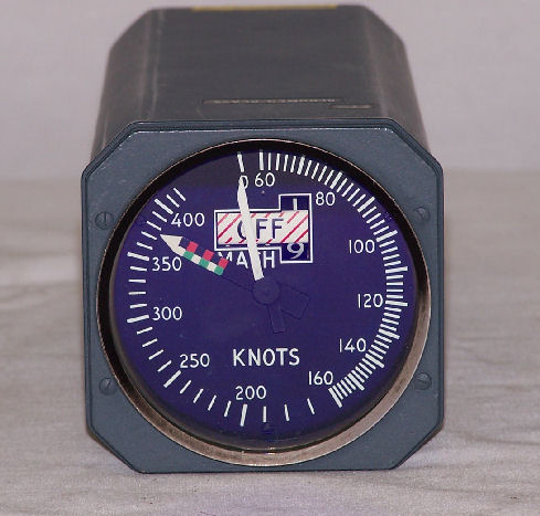10-60768-23, MACH Airspeed Indicator