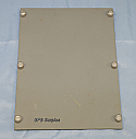 "EH000028-222, Blank Panel Assembly, 8.250"" High"
