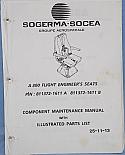 Sogerma-Socea, A300 Flight Engineer Seat Maintenance Manual