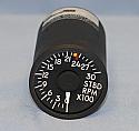65-0004-8284, 1822, 522130, RPM Indicator, STBD