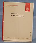 General Radio, 1398A, Pulse Generator, Operation and Maintenance Manual