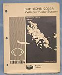 RDR-150, IN-2026A, Weather Radar System Installation Manual