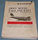 T-42A, B55B, Beechcraft Illustrated Parts List Book