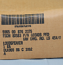 LS-454/U, Military Radio Loudspeaker, NEW