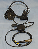 29140-851-10, Military Radio, Headset Microphone Assembly