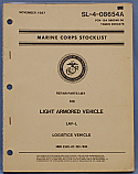 LAV-L, Light Armored Vehicle, Repair Parts List