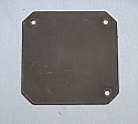 """693-6407-001, Cover Plate, 3"""" Round Instrument"""