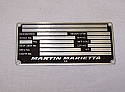 66f3-2, Product Data Plate