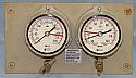 Gage Panel, Dual, Pressure, Vacuum, Moeller