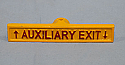 """1006707, Handle Assembly,""""Auxiliary Exit"""""""
